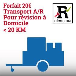 Forfait transport A/R pour...